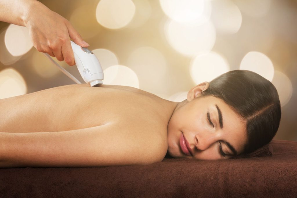 super back hair removal